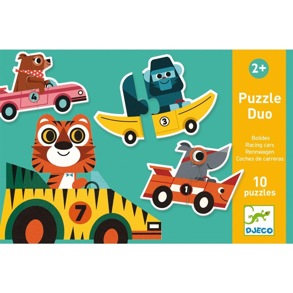 Puzzle-Duo/Trio  Rennautos