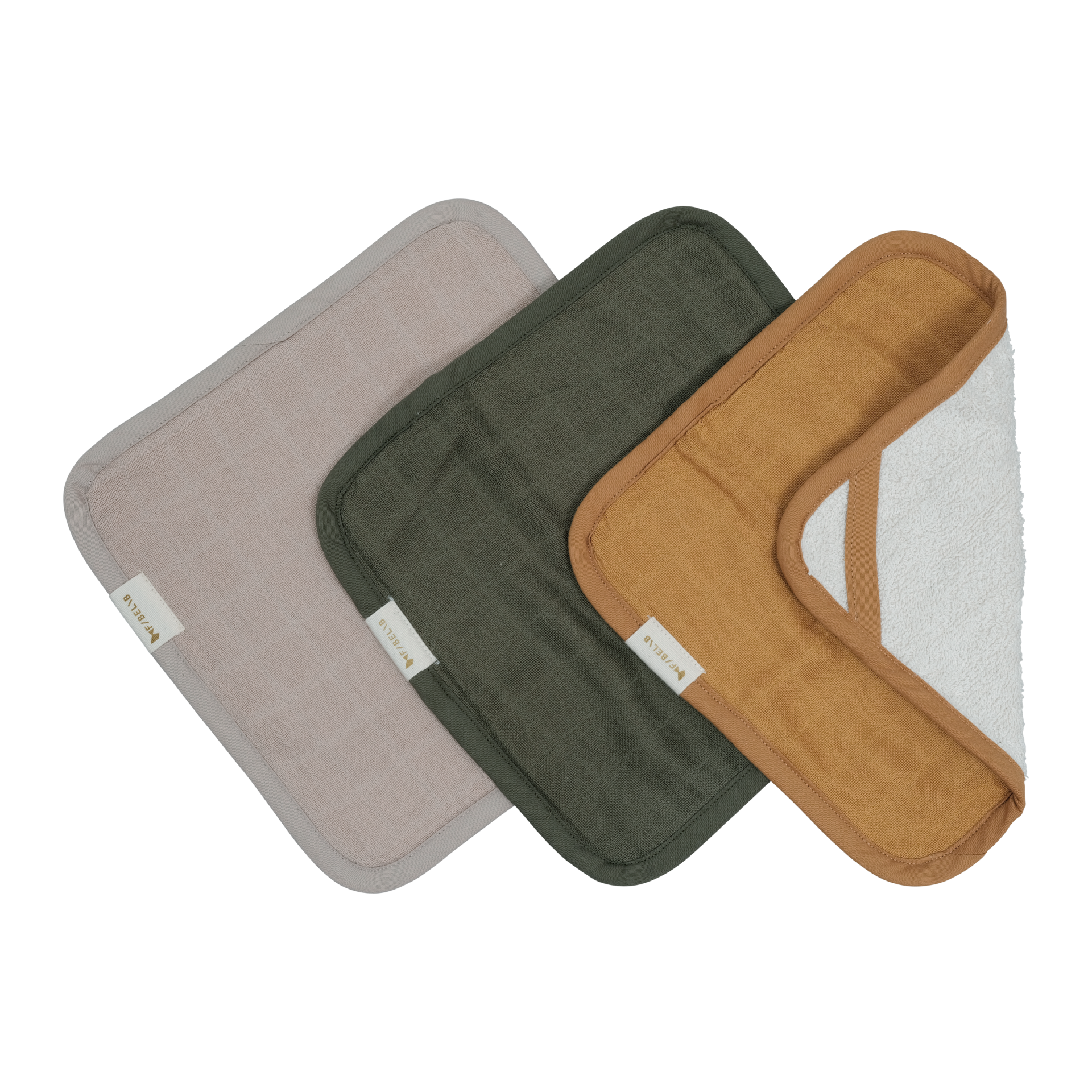 Waschlappen  OLIVE/OCKER