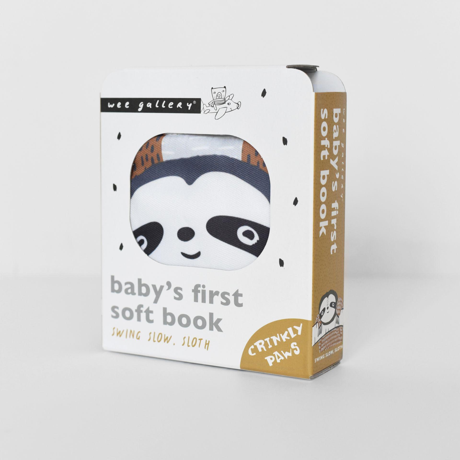 Baby Soft-Buch SWING SLOW SLOTH