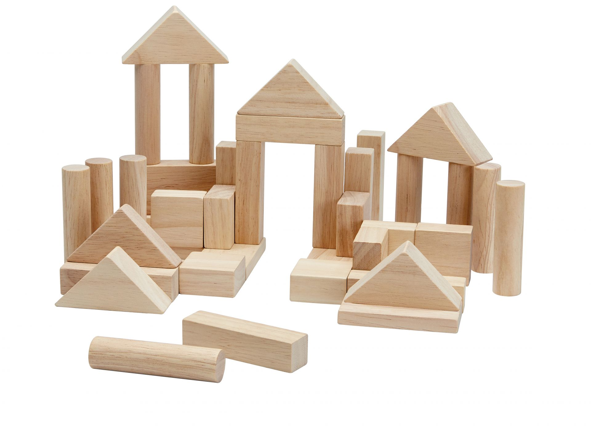 Holzbauklötze 40 Stück
