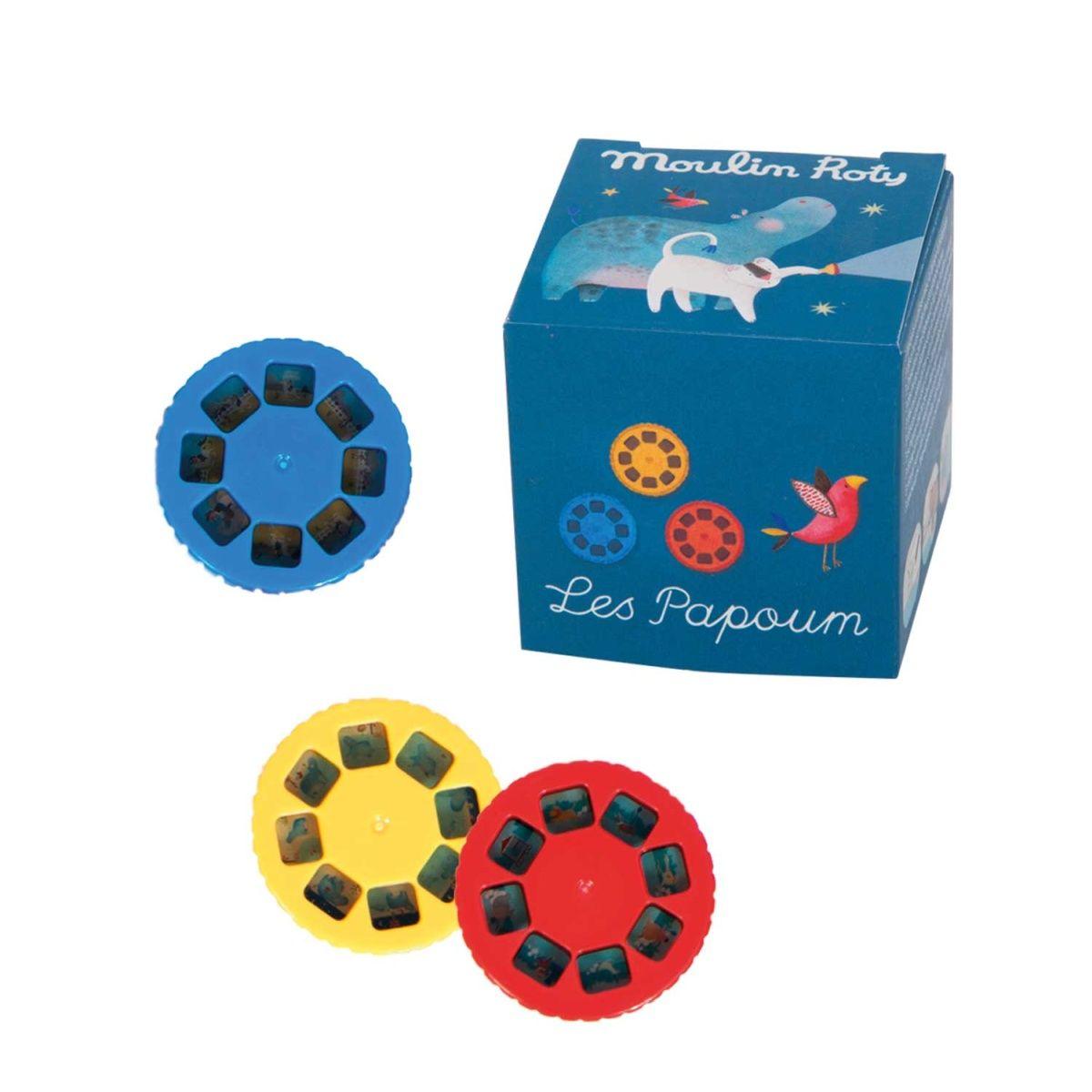 Disketten für Projektionsleuchte Les Papoum
