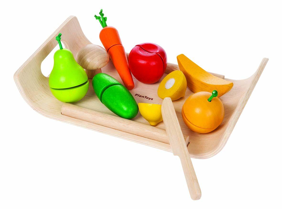 Schneidebrett Obst & Gemüse